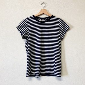 Madewell Rivet & Thread Striped Tee